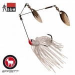 Dam Effzet Twin Spinnerbait