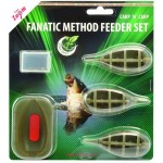 "Carp ""N"" Carp Fanatic Method feederkosár szett"